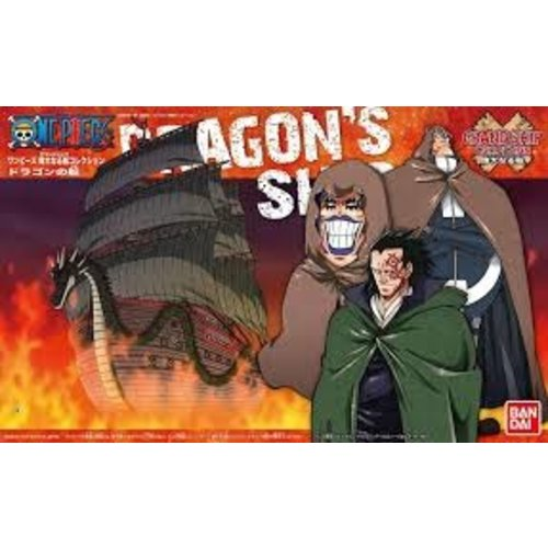 One Piece Model Kit Ship Monkey D. Dragon 15cm