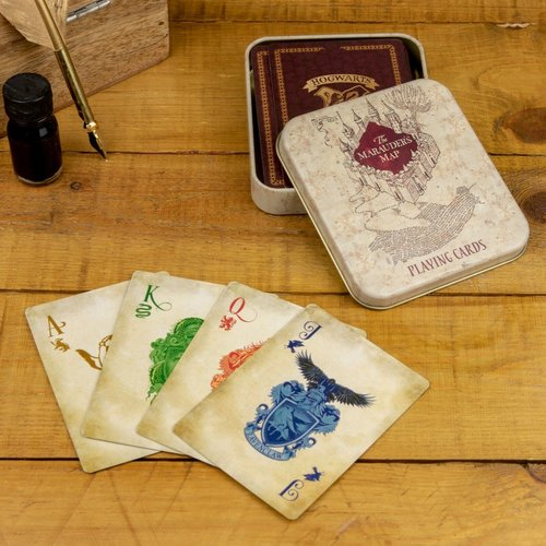 Harry Potter Marauders Map Playing Cards