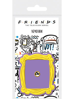 Friends Rubber Keychain Foto Frame