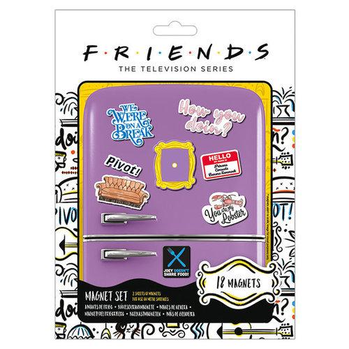 Friends Magnet set of 18 Mix