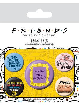 Friends 5 Badges Pack