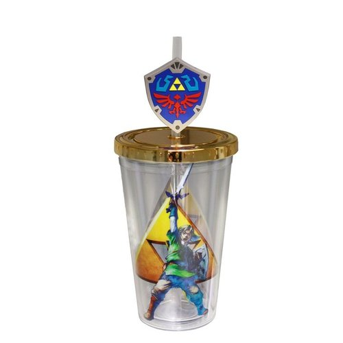 Zelda Carnival Cup With Molded Straw Attachment