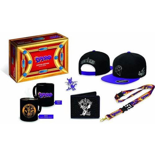 Spyro Limited Edition Gear Crate, Mug , Cap , Lanyard , Wallet , Pin