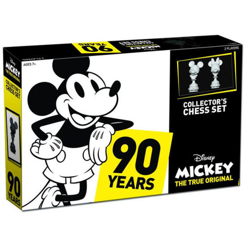 Mickey 90 Years Collectors Chess Set The True Original