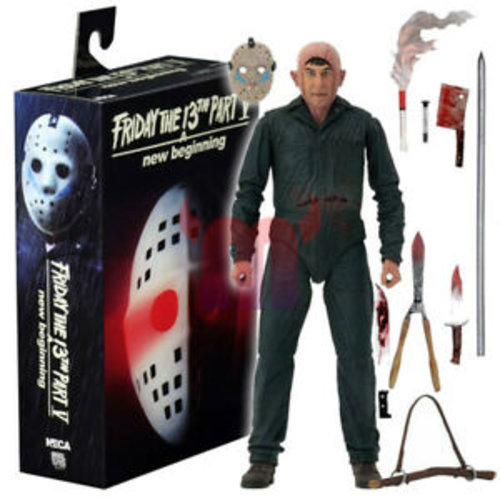 Friday The 13TH Part V New Beginning Roy Burns 7inch Scale Figure