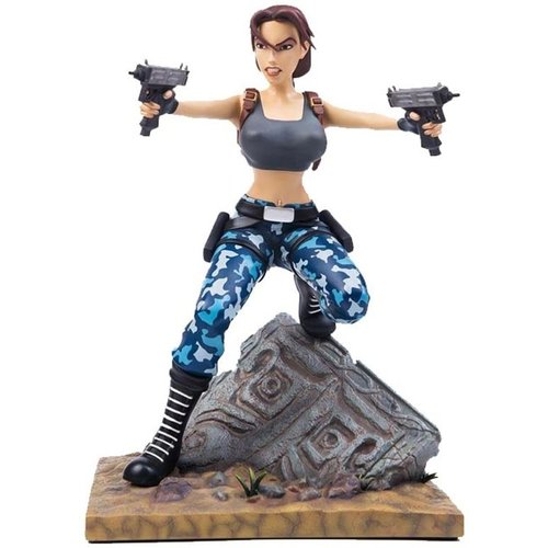 The Tomb Raider III: Adventures of Lara Croft 1:6 Scale Statue Gaming Heads
