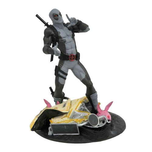 Mavel Gallery , Deadpool SDCC 2019 X-force Taco Truck Deadpool Statue Diamond Gallery