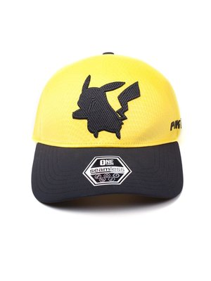 Difuzed Pokemon Pikachu Seamless Curved Bill Cap
