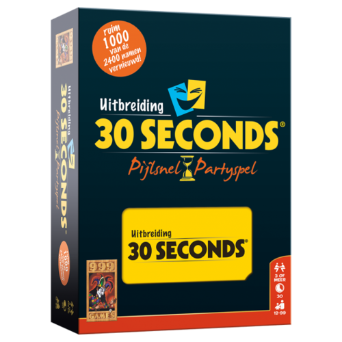 30 Seconds Uitbreiding Boardgame Pijlsnel Partyspel