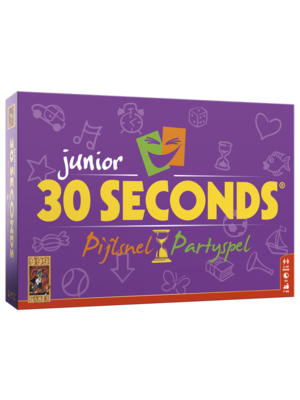 30 Seconds Junior Basis Game Boardgame Pijlsnel Partyspel
