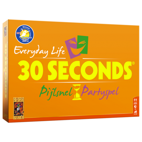 30 Seconds Everyday Life Basis Game Boardgame Pijlsnel Partyspel