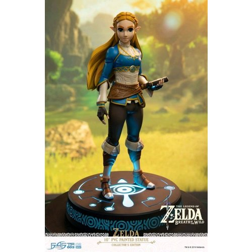 Zelda Breath of the Wild Princess Zelda Collectors Edition F4F