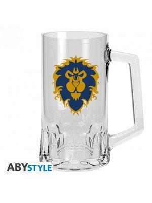 World of Warcraft Alliance Beer Glass
