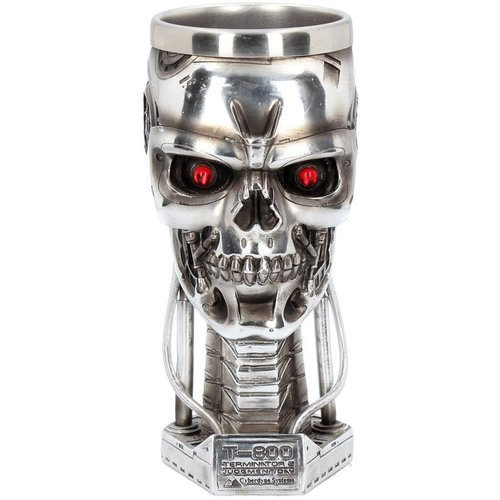 Terminator II Calice Head Goblet 17cm Nemisis Now