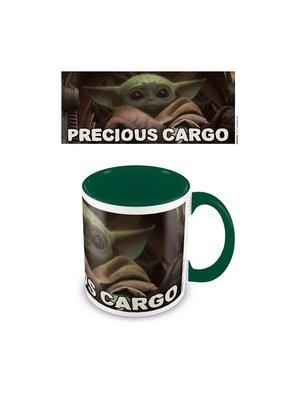 Star Wars The Mandalorian Precious Cargo Green Coloured Mug 315ml