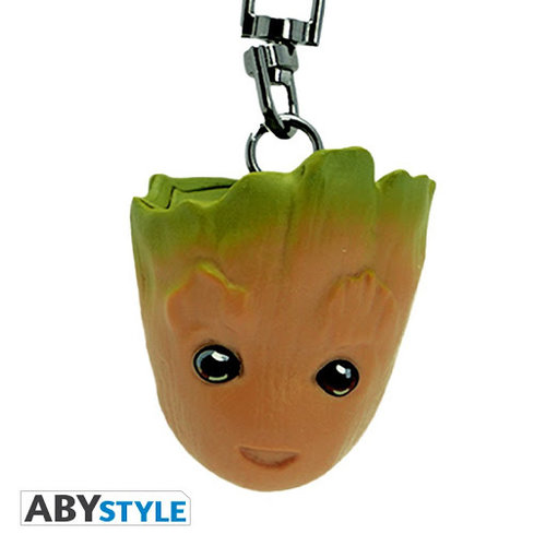 Marvel Groot 3D Keychain