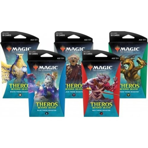 Wizards of The Coast Magic the Gathering MTG Theros Beyond Death Theme Booster Pack