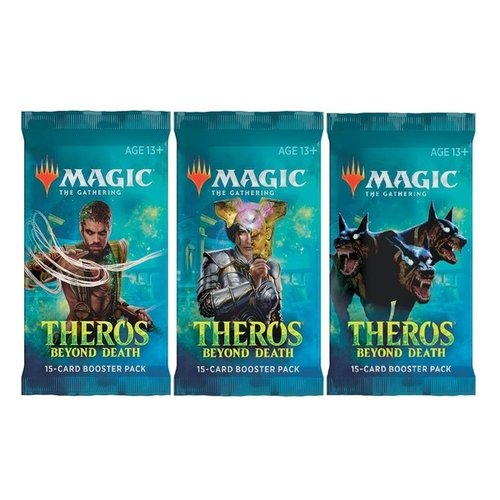 Wizards of The Coast Magic MTG Theros Beyond Death Booster Pack