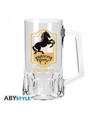 Lord of the Rings Prancing Pony Beer Glass Tankard