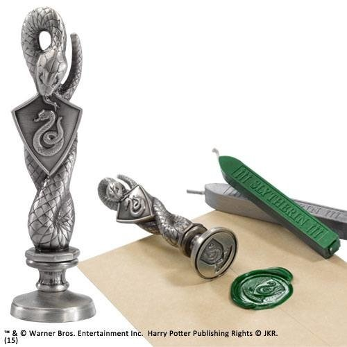 The Noble Collection Harry Potter Slytherin Wax Seal Noble Collection