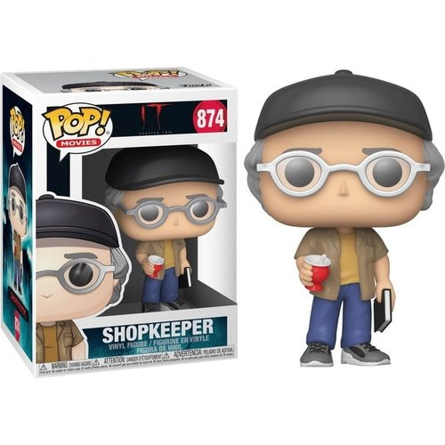 Funko Funko POP! IT 874 Shopkeeper Stephen King Figure