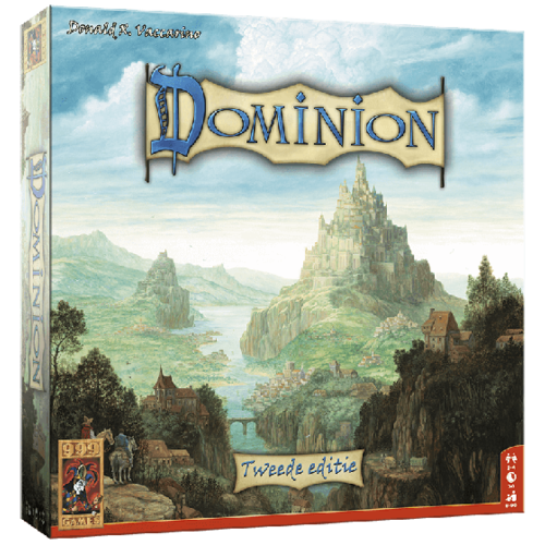999Games Dominion Basis Game Cardgame Tweede Editie 999games