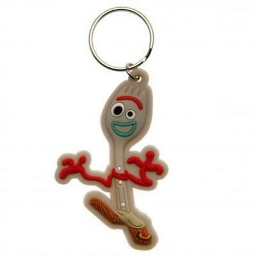 Disney Toy Story 4 Forky Rubber Keychain