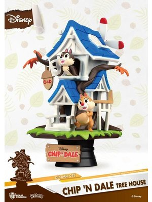 Beast Kingdom Disney Diorama Chip n Dale Tree House