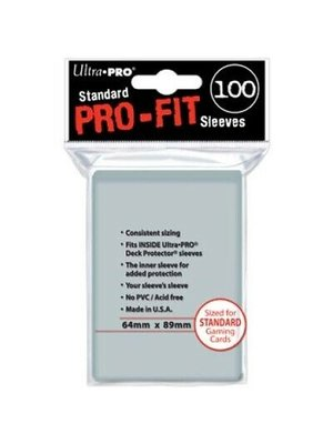 Ultra Pro Deck Protector Sleeves Pro Fit Clear Standaard C100