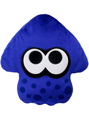 Splatoon 2 Bright Blue / Purple Pillow