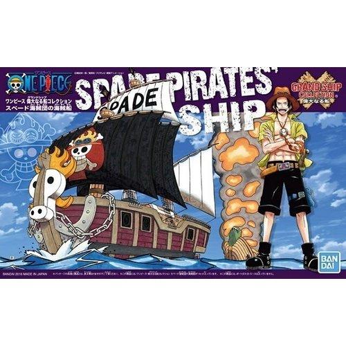 Bandai One Piece Model Kit Ship Spade Pirates