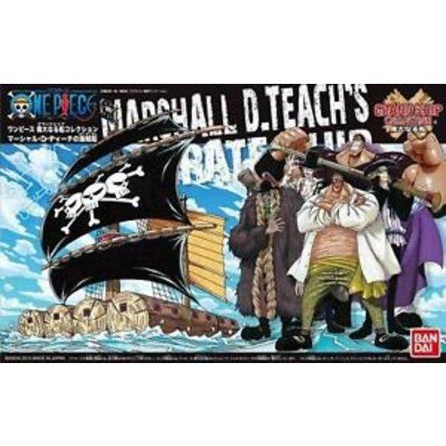 Bandai One Piece Model Kit Ship Marshall D. Teach