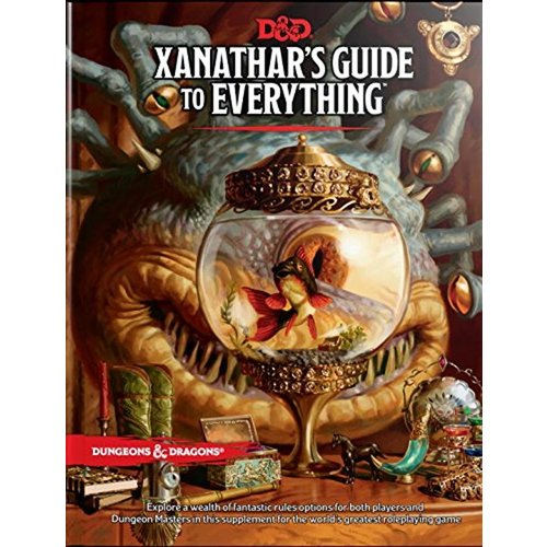 Wizards of The Coast Dungeons & Dragons Xanathar Guide To Everything D&D
