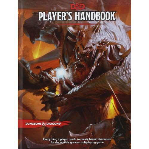 Wizards of The Coast Dungeons & Dragons Players Handbook D&D TRPG