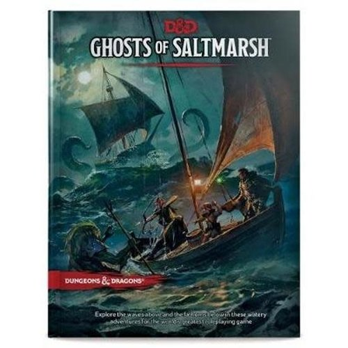 Wizards of The Coast Dungeons & Dragons Ghosts Of Saltmarsh D&D