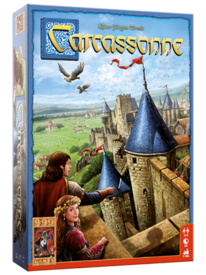 999Games Carcassonne Basis Game Boardgame 999games