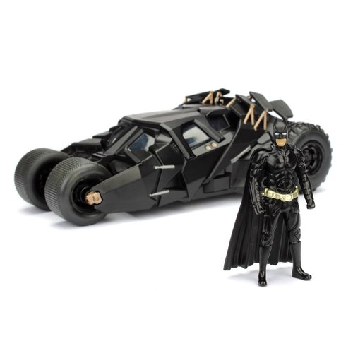 DC Comics Batman The Dark Knight Batmobile 1:24 Figure