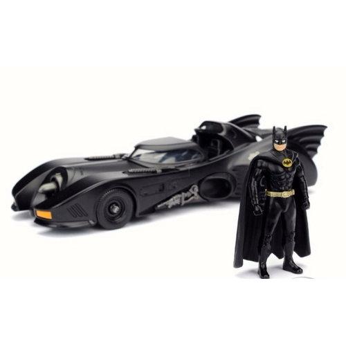 DC Comics Batman 1989 & Batmobile 1:24 Figure