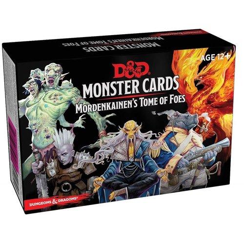 D&D Monster Cards Mordenkainen's Tome of Foes