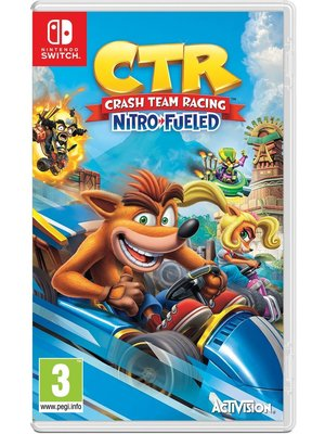 Activision Crash Team Racing Nitro-Fueled (Nintendo Switch)
