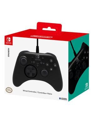 Hori Hori Wired Controller  Black (Nintendo Switch)