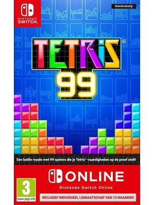 Nintendo Tetris 99 + (Nintendo Switch) Online (Nintendo Switch)