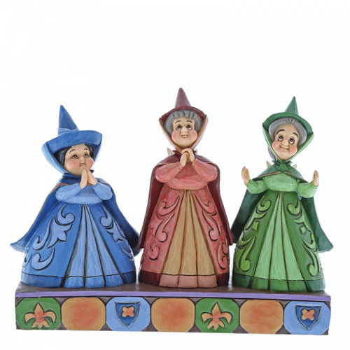 Disney Traditions Royal Guests (Three Fairies Figurine)