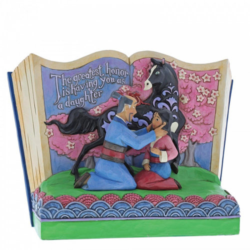 Disney Traditions The Greatest Honor is You as a Daughter (Storybook Mulan)