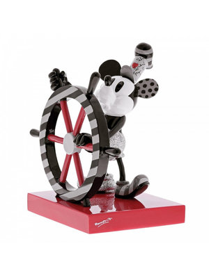 Disney Britto Mickey Steamboat Willie Figurine