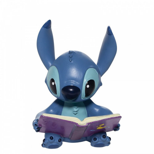 Disney Showcase Stitch Book Figurine