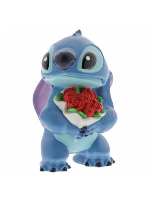 Disney Showcase Stitch Flowers Figurine
