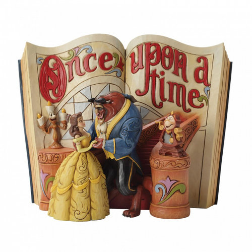 Disney Traditions Love Endures (Storybook Beauty and The Beast)