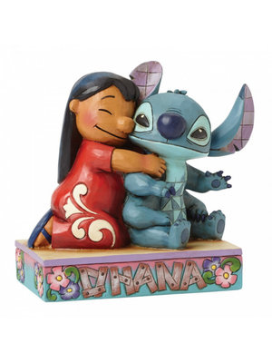 Disney Traditions Ohana Means Family (Lilo and Stitch Figurine)