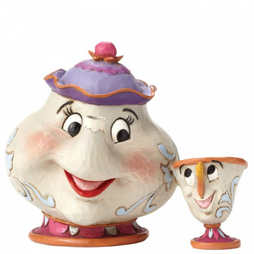 Disney Traditions A Mother's Love (Mrs Potts and Chip Figurine)